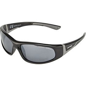 Alpina Flexxy Gafas Niños, black-grey